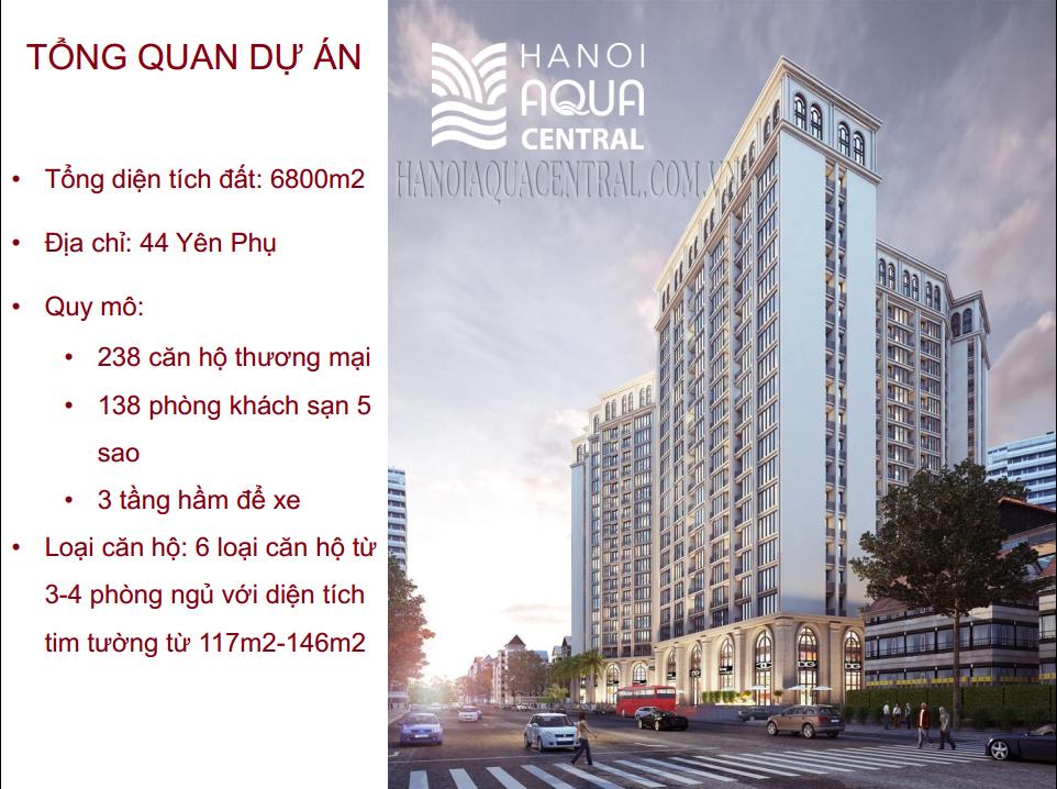 HANOI AQUACENTRAL : ĐẦU TƯ 500 TỶ ĐỒNG CHO HỆ THỐNG PCCC.