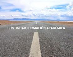 Continuar formación académica