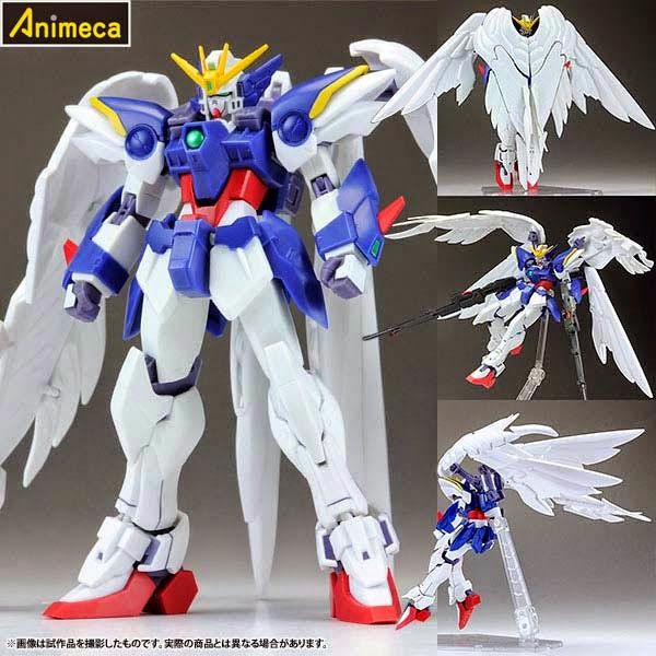 ROBOT SPIRITS SIDE MS WING GUNDAM ZERO EW Ver. FIGURE Gundam Wing Endless Waltz BANDAI