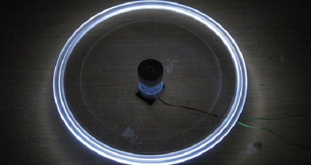 Make CRAZY LED Lamp Experiment simple,in the style of www.saifulcomelektronik.com