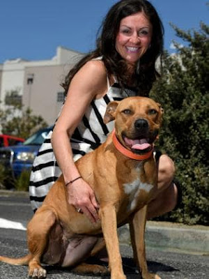 Eview Group Chelsea Sofia Vatos and her American Staffy Persephone