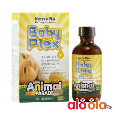 Baby Plex - Cung cấp nguồn vitamin thiết yếu cho trẻ