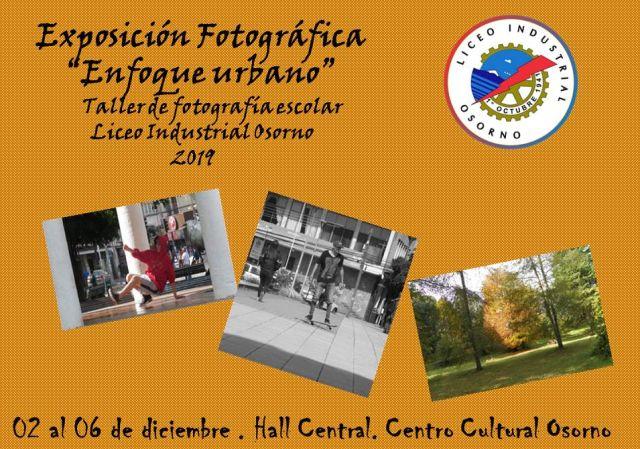 Exposición Fotográfica del Liceo Industrial en el Centro Cultural de Osorno