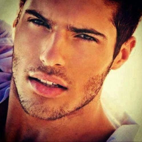 Attractive moroccan man