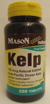 kelp, thyroid medication