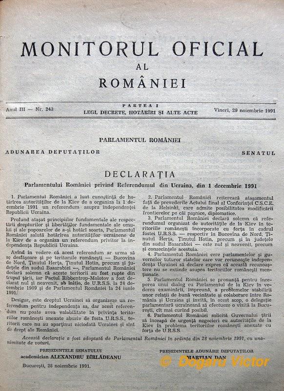 "mo - 2 iunie 1997 Emil Constantinescu renunța la Basarabia si Bucovina prin ""Tratatul de la Neptun"""