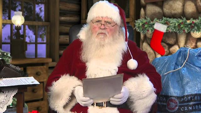 Querido Santa, yo otra vez