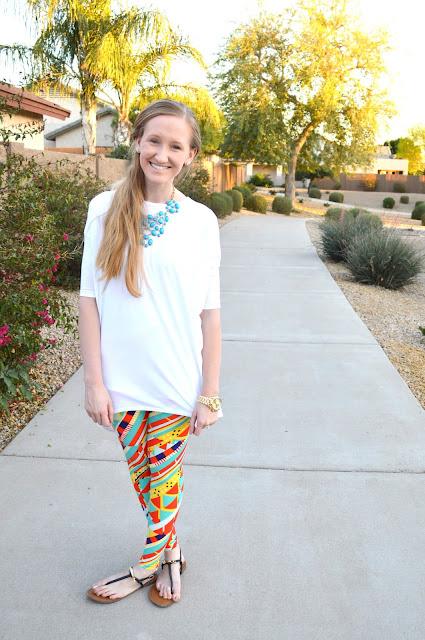 Summer leggings by Alyssa Dawson
