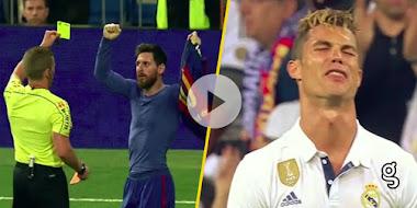VIDEO: Lo que nadie notó ¡La épica reacción de Messi al recibir la tarjeta amarilla!