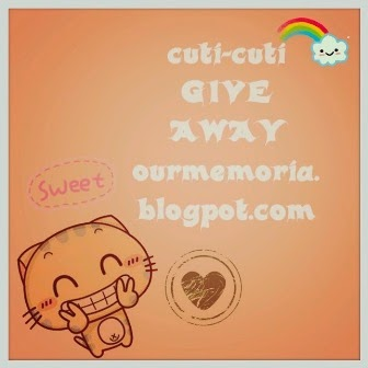 Cuti-cuti GIVE AWAY
