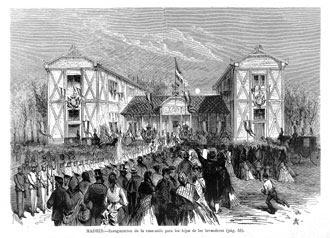Inauguración del Asilo de Lavanderas