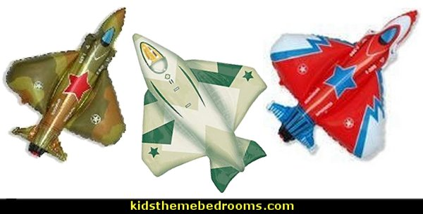 Jet Fighter balloons  army party decorations - Camouflage Party Supplies - army party ideas - Military party ideas for a boy birthday party - Army & Camouflage decorations - army party decoration ideas - army themed party - army costumes - Army Camo Party Supplies -