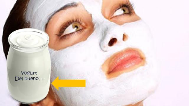 Descubre 5 beneficios del yogurt para tu rostro...