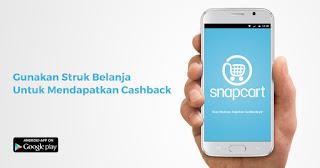 Cara Mendapat Uang Dari Aplikasi Snapcart