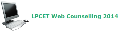 AP Telangana LPCET Web Counselling 2014 Dates Updates at www.lpcet.cgg.gov.in