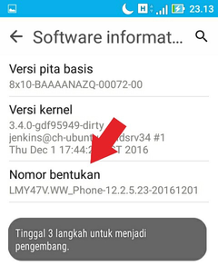 Cara Mengaktifkan Menu Developer Option 2