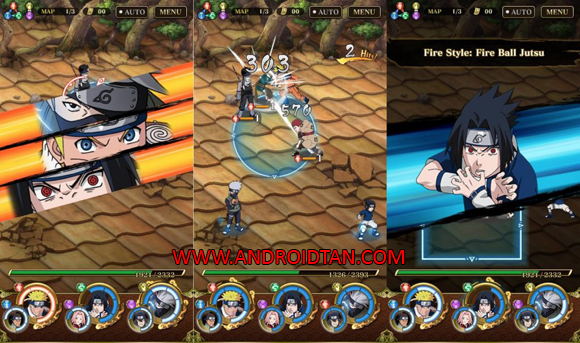 Free Download Ultimate Ninja Blazing Mod Apk v1.5.8 (Mod Health/Damage) Android Terbaru Full Latest Version 2017
