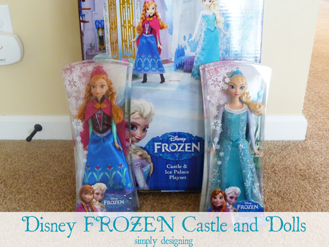 Disney FROZEN Castle and Dolls | #FrozenFun #shop #cbias