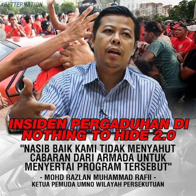 Pembangkang & Genterism Jalanan Berpisah Tiada - @razlanrafii