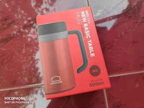 Review Ketahanan Lock&Lock Table Mug Hot&Cool