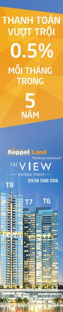 Dự án căn hộ The View Riviera Point quận 7