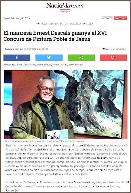PINTURA-MANRESA-NOTICIES-CATALUNYA-CONCURS-PINTURA-JESÚS-TARRAGONA-PREMIS-PINTOR-ERNEST DESCALS