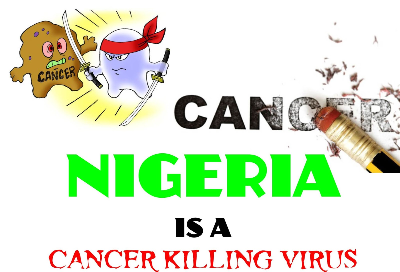 OPINION: NIGERIA IS A CANCER KILLING VIRUS - The Biafra