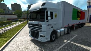 Barrinho Transportes pack for DAF XF
