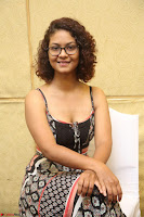 Actress Aditi Myakal Looks gorgeous in Sleeveless Deep Neck Top at Ami Tumi success meet ~  Exclusive 084.JPG