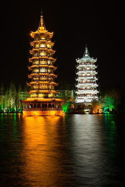 Guilin, pagodas