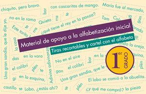 Tiras recortables y cartel con el alfabeto Primer grado - PDF - Ciclo Escolar 2016-2017