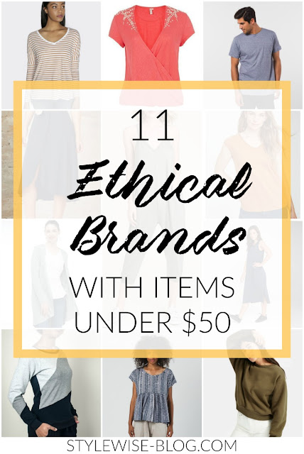 ethical and sustainable brands companies with clothing under $50 stylewise-blog.com