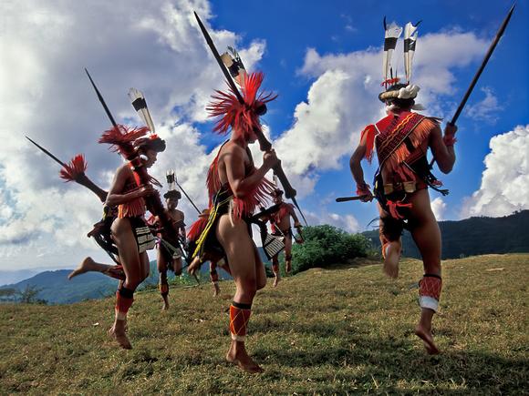 Nagamese Warriors dance