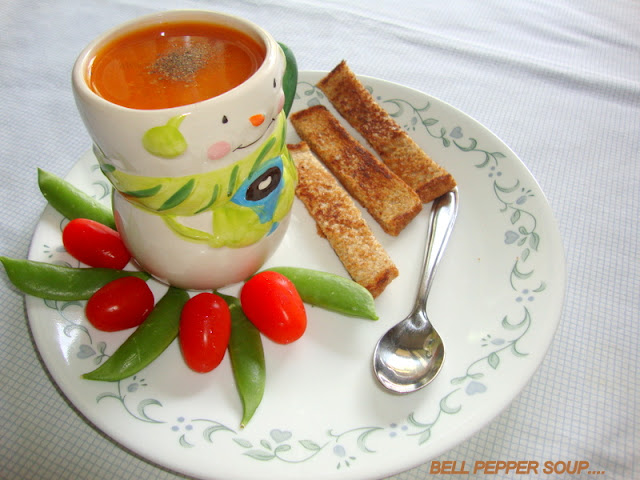 images of Red Bell Pepper Soup Recipe / Bell Pepper Soup Recipe