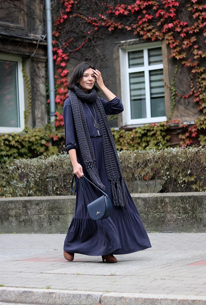 Sukienka boho długa 2019 Bohema