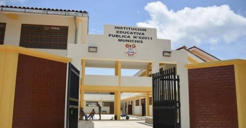 Ministra de Educación Marilú Martens inaugura colegio y supervisa estado de material educativo en Yurimaguas