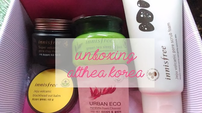 Unboxing Althea Korea Beauty Box