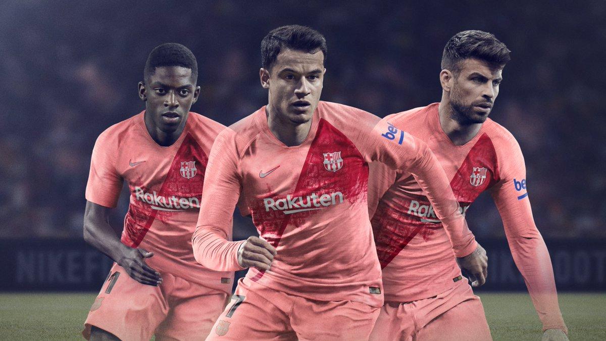 38d1665f0 Nike FC Barcelona 18-19 Third Kit Released - Footy Headlines