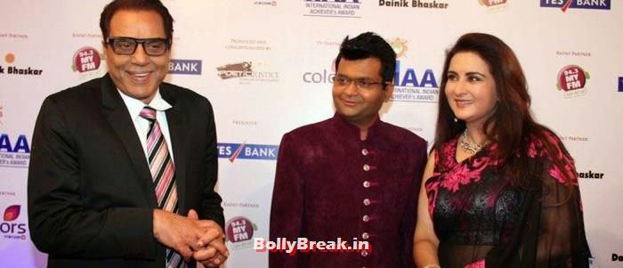 Dharmendra, Poonam Dhillon, International Indian Achiever's Awards Photo Gallery