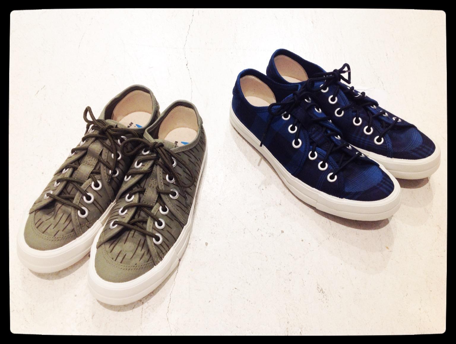 RFW【アールエフダブリュー】SANDWICH-LO CHECK/RAIN KAMO Sneakers▼香川・綾川店