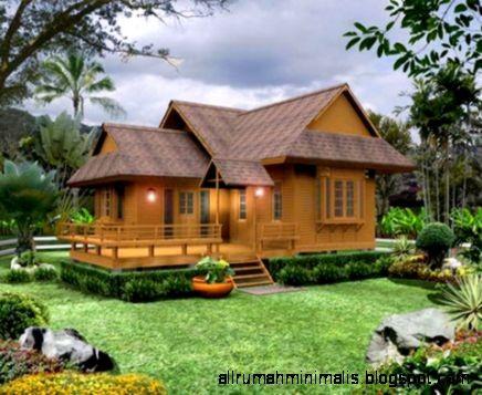 model rumah dari kayu 5