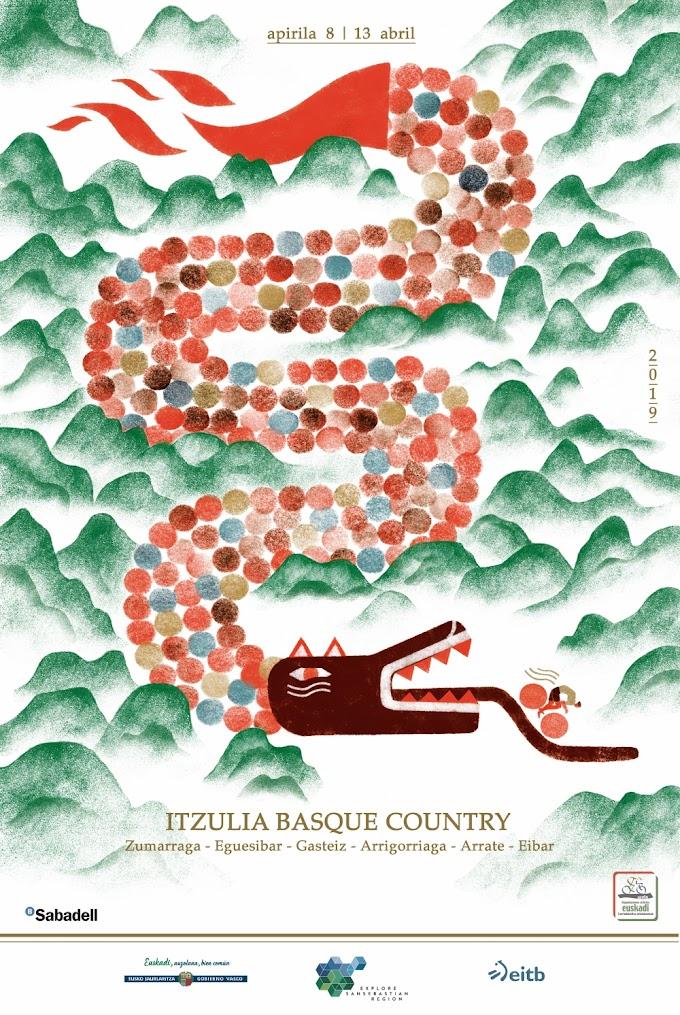 Se presentó el cartel de la Itzulia 2019, obra de Yolanda Mosquera