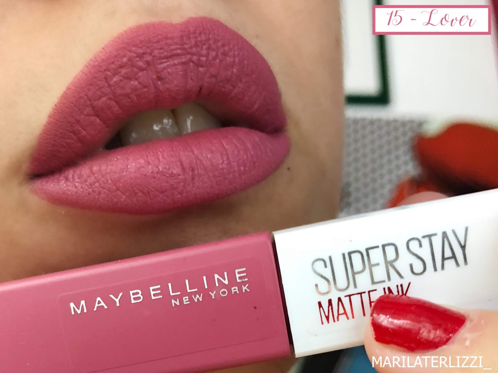 Superstay Terlizzi Red Ink Matte Ladye In MaybellineMarila The b7fyvYI6g