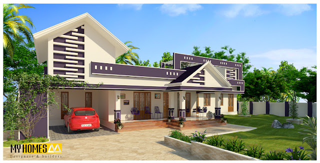 62 model desain rumah minimalis sederhana paling di cari for Budget home designs in kerala