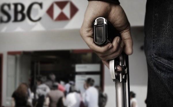 Ladrones roban 1 millón 700 mil pesos en efectivo a cuentahabiente.