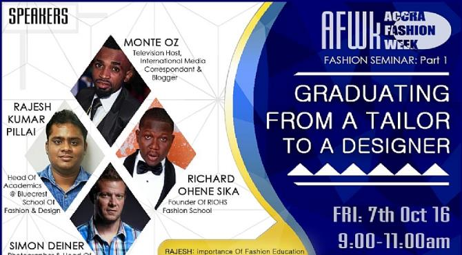 This year's edition of the Accra Fashion Week would play host to a couple of speakers from the fashion and design and modeling industry.  Among the speakers at the fashion seminar to be held at the Trade Fair Centre from Friday 7th October to the 16th of October is last weekend's AFROMA Award winner, Richard Ohene Sika of Riohs Originate Fashion School.  Richard Ohene Sika's Riohs Originate Fashion School provides services and training for individuals/organizations that value their image, style, colour and insist on promptness, accuracy and consistency.  Riohs Originate was founded in 2010 by Richard Ohene Sika- a writer, singer, fashion designer and talent manager, which has been the driving force behind numerous citizen-centered and educational initiatives.  Richard's original vision was to offer the general public the chance to take high quality arts courses by distance learning, without prior qualifications or restrictions. He saw Riohs as a means of transforming people's lives, giving them the opportunity and skills to express their creative talents under the guidance of professional artists.  Today Riohs Originate is a thriving creativity enhancement institution whose charitable purpose is to widen participation in arts education. Countless students each year now study creative and visual arts by open learning with us.  Riohs strategy is determined by excellent directors of operations. Our head office and training atelier is located on the Blohom Street of Dzorwulu, Accra where all of our tutors are ever present to aid our students. Visit us on:  Visit us on: Facebook: Riohs Originate Twitter: Riohs Originate Contact: WhatsApp Line 0248 32 36 69 Phone: 0248 32 36 69