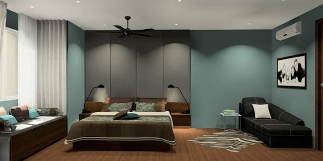 Master Bedroom - Meridian Interior Design