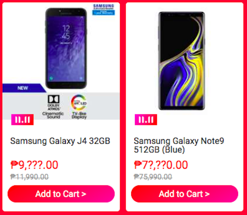 Sale Alert: Samsung Galaxy Note9 and more in up to 40 percent off on Lazada 11.11 Sale!