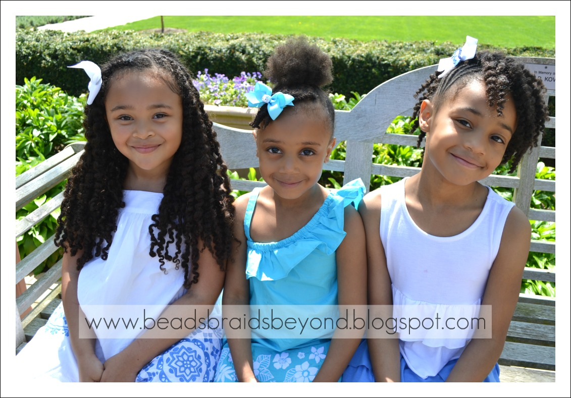 Little Girls Natural Hairstyles Twist Out S Puff With