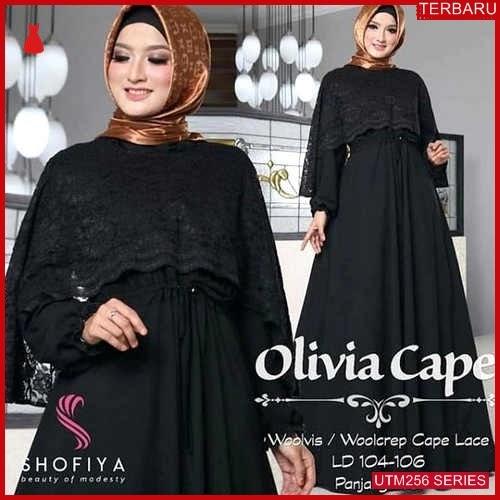 UTM256T81 Baju Ter Muslim Olivia Dewasa Cape UTM256T81 100 | Terbaru BMGShop